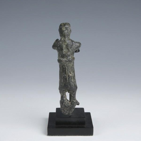 Nabataean Bronze Deity Statuette