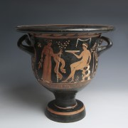 Magnificent Red Figure Apulian Bell Krater