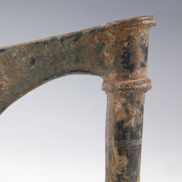 Luristan Bronze Shaft-Hole Axe with Ridged Decoration