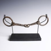 Medieval Iron Horse Bridle