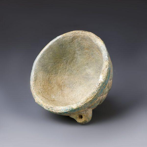 Mesopotamian Vessel with Lotus Petals