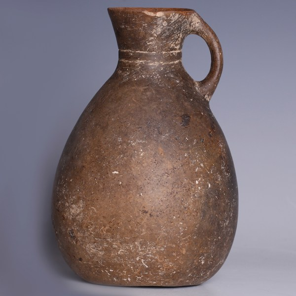 Anatolian Burnished Grey Pottery Jug