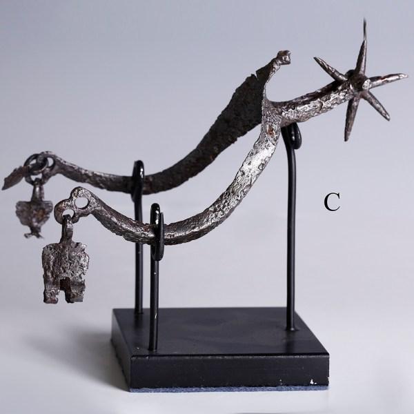 bronze medieval spur 4