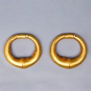 Archaic Eastern Greek Pennanular Earrings
