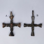 Late Roman-Byzantine Bronze Cross Pendants