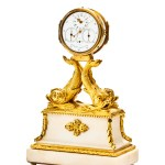 James Tregent 2 Day Small Table Clock With Centre Seconds Gilded Bronze And White Marble Important Modern Amp Vintage Timepieces Hong Kong October 27th 2019