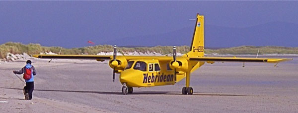 Hebridean Airlines plane