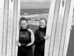 Russian surfers