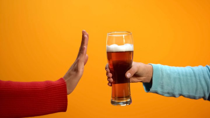 avoir le dégoût de l'alcool