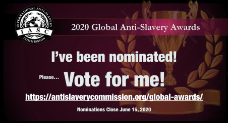 I have been nominated.001