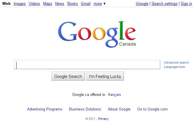 Canadians read, Americans shop, Everyone Googles (2/2)