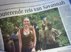 Co-host Savannah Grace (@Sihpromatum) of Holland was featured in a Dutch newspaper--likely for the release of her new second book! https://twitter.com/Sihpromatum/status/509066078077853696/photo/1