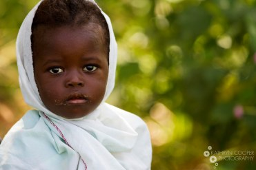 A child of The Gambia