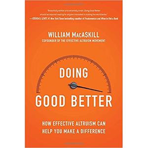 Boek: doing good better - William MacAskill