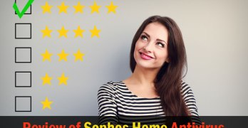 Sophos Review Home Edition