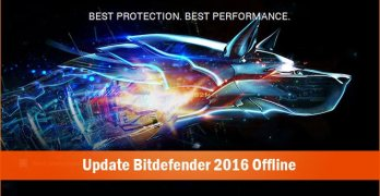 How to Update Bitdefender 2016 Offline/Manually Without Internet