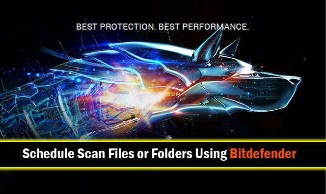 Scan Using Bitdefender