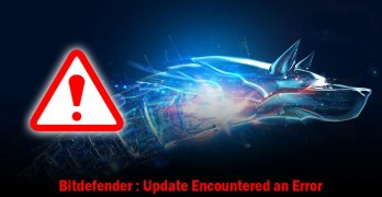 [Solved] Bitdefender 2016: Update Encountered an Error