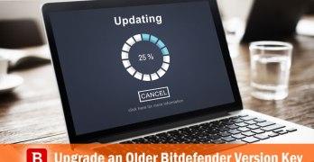 upgrade bitdefender key