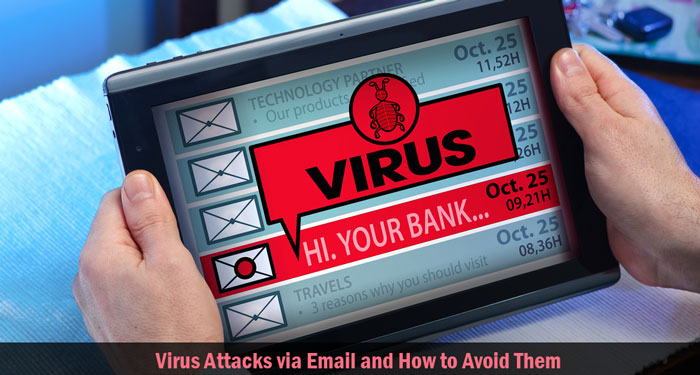 Virus Attacks via Email