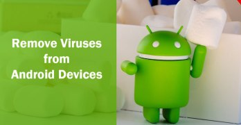remove virus from android device