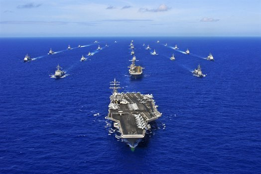US Navy fleet in Asia-Pacific