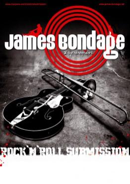 James Bondage | Logo+ Plakatgestaltung