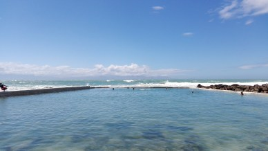 St James Tidal Pool - a refreshing little gem. Tide pools are rocky pools on the sea shore which are filled with seawater.