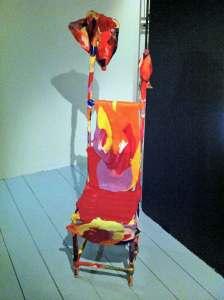 Shaman stol, Agneta Gynning