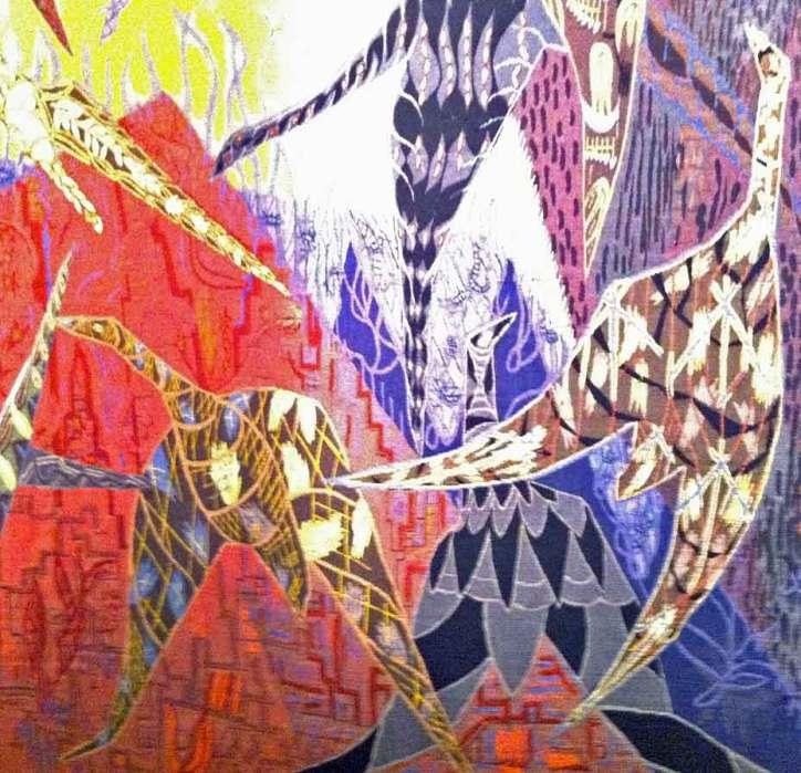 Lars Gynning, Detalj New York
