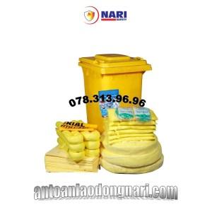 bộ dụng cụ xử lý tràn hóa chất