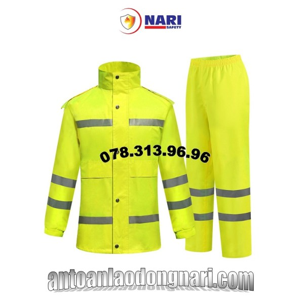 áo mưa phản quang