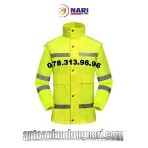 áo mưa phản quang cảnh sát giao thông