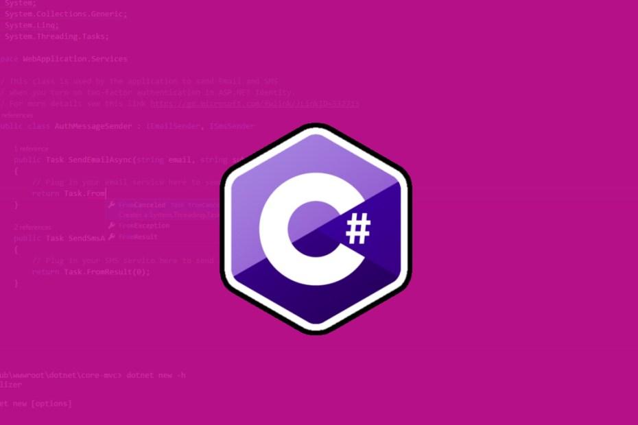 C sharp programming-Babary Antoine