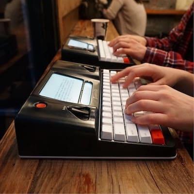 freewrite pour être plus productif en travaillant sans internet