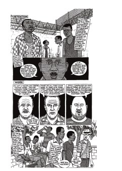 The Unwanted © Joe Sacco. Click to enlarge, or click through the Guardian link above.