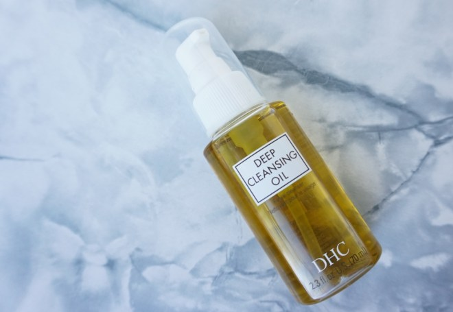 antoinette mot layering night time DHC huile démaquillante cleansing oil