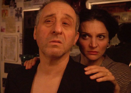 with Joe Grifasi in THE FACE, written and directed by Gibson Frazier