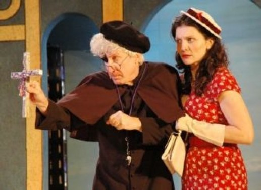 as Adriana with Kenneth Boys in THE COMEDY OF ERRORS at Shakespeare on the Sound, directed by Ezra Barnes