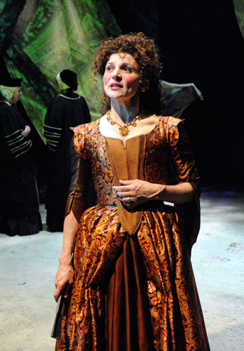as The Empress in THE EUROPEANS at Atlantic Theater Co., directed by PTP's Richard Romagnoli