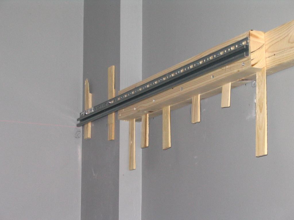 Kitchen Cabinet Hanger Wall Rail - Imanisr.com