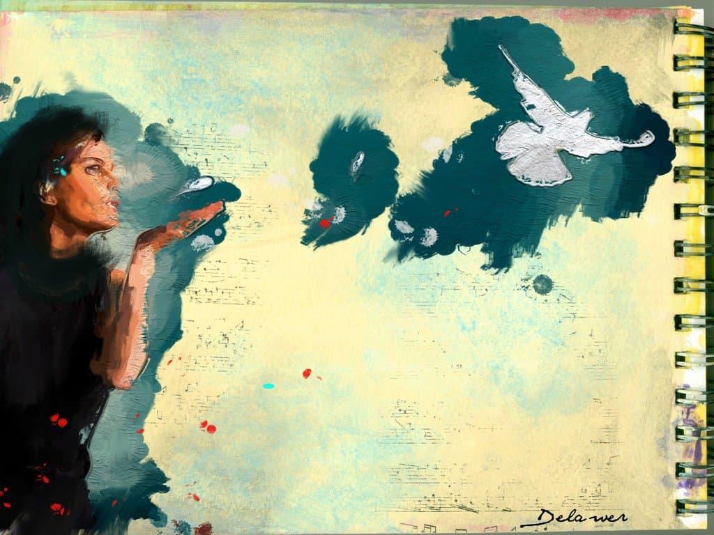 صورة خورخي لويس بورخيس – إلى قطة – ترجمة جميل عزيز محمد