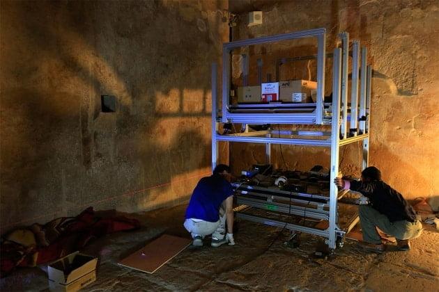 كشف غرفة سرية جديدة في هرم خوفو بمصر