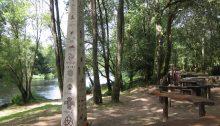 Areal de Berres, playa fluvial cerca de Santiago. Antonautas na Iagosfera