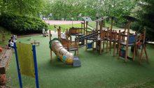 Parques infantiles en Santiago. Parque de Xoán XXIII