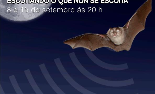 Morcegos: escoitando o que non se escoita. Museo de Historia Natural da USC. Agenda de Antonautas na Iagosfera