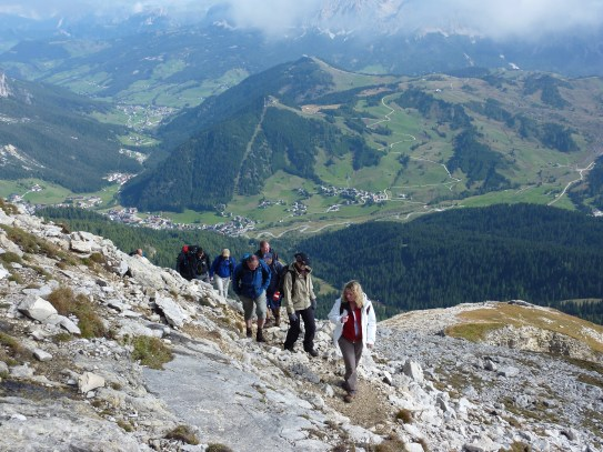 Above Corvara, Dolomites