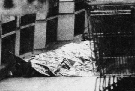 Una delle vittime degli assassini del Brabante