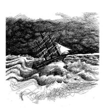 The storm , book illustration
