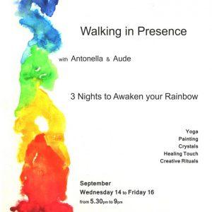 walking in presence poster